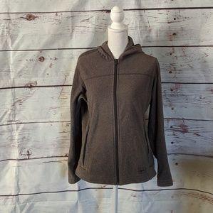 REI Fleece Zip Up Hoodie Size Large